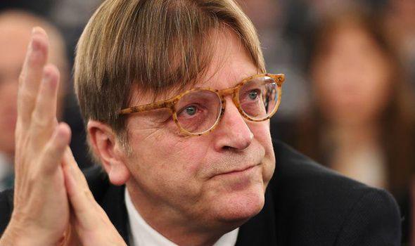 Brexit negotiator Guy Verhofstadt