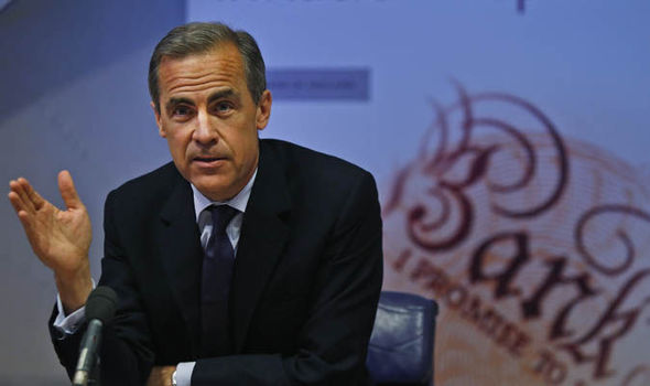 Bank of England's governor Mark Carney