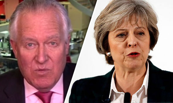 Peter Hain Theresa May