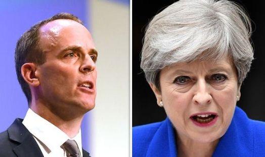 Bildergebnis für Vote against May's Brexit agreement, Raab urges MPs
