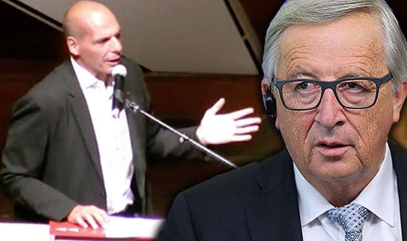 Former Greek finance minister Yanis Varoufakis