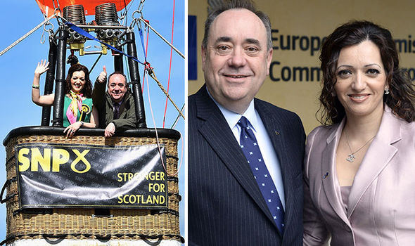 alex salmond tasmina ahmed sheikh snp mp