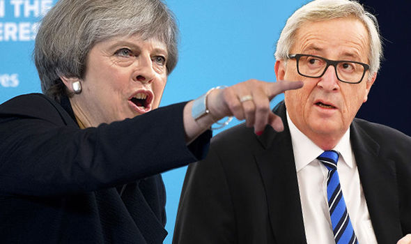 'Ball's in YOUR COURT!' May issues Brussels ULTIMATUM on day of fresh Brexit talks