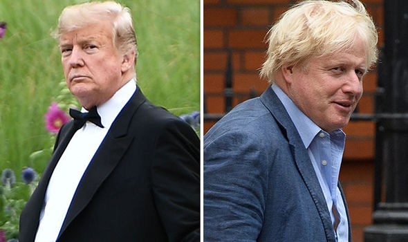 donald trump boris johnson