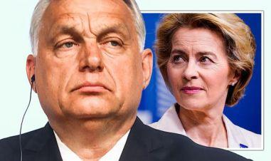 EU news Viktor Orban Ursula von der Leyen