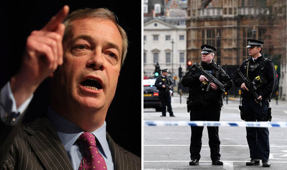 Nigel Farage - London Terror attack