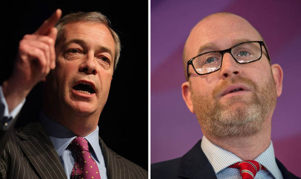 Nigel Farage - Paul Nuttall