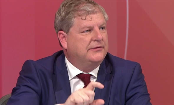 Angus Robertson on Question Time