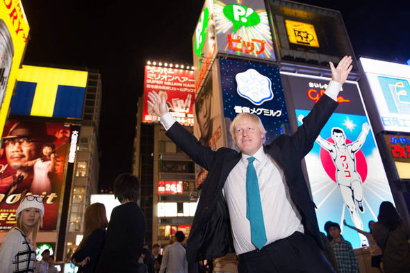Boris aims to strengthen economic ties with Japan