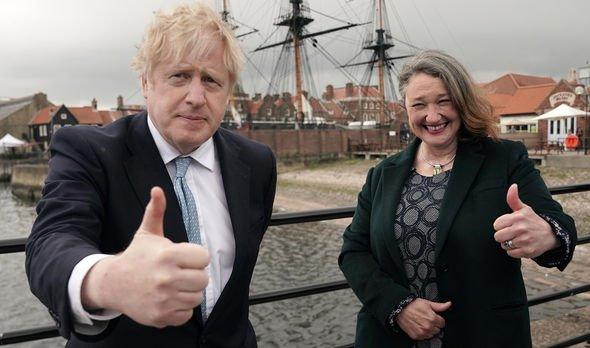 Boris Johnson Jill Mortimer