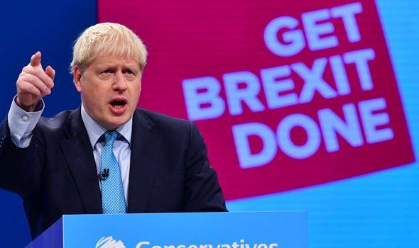 Boris Johnson making Brexit deal