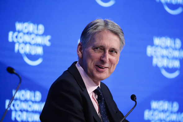 Philip Hammond at the World Economic Forum