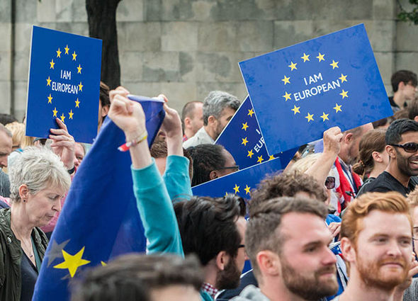 Remainers protest Brexit