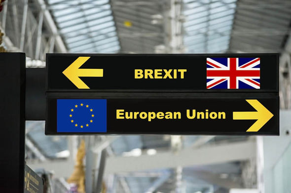 Brexit sign