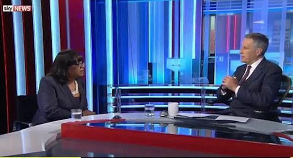 Ms Abbott endured an uncomfortable broadcast interview on Sky News