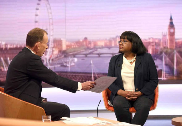 Andrew Marr and Diane Abbott