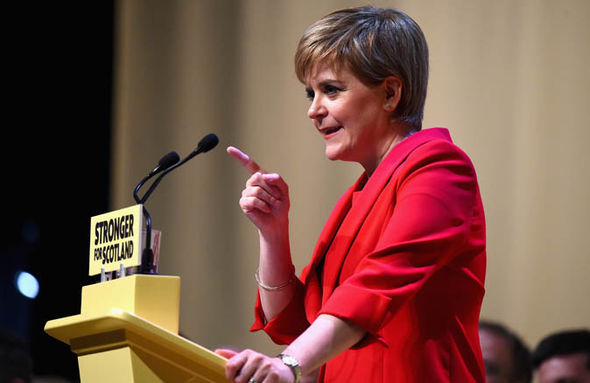 Election 2017 Scotland Nicola Sturgeon independence SNP manifesto polls