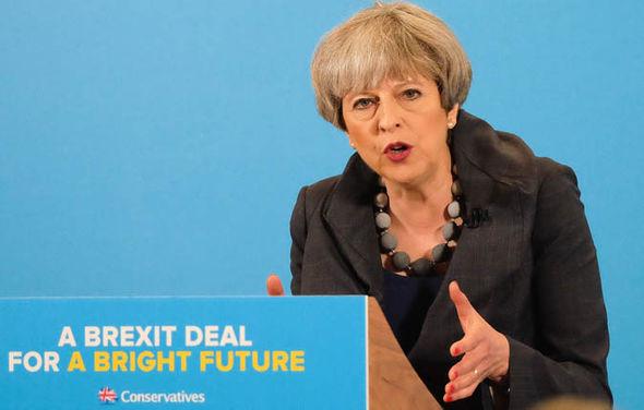 Election 2017 UK Theresa May