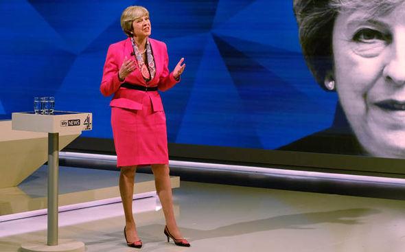 Election debate 2017 Theresa May