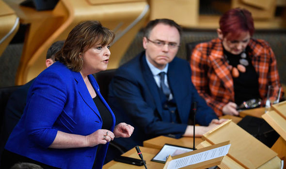 Scottish foreign minister Fiona Hyslop