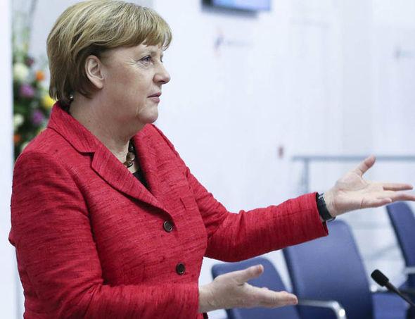 German Chancellor Angela Merkel
