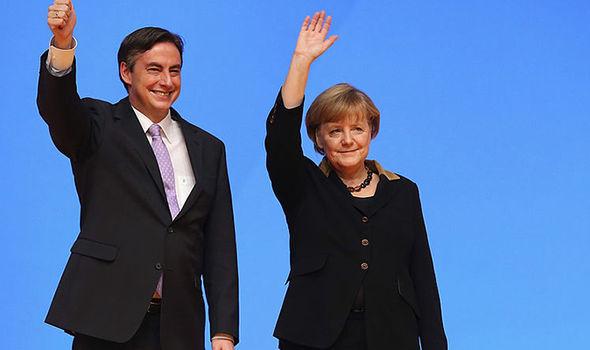Germany MEP and Angela Merkel