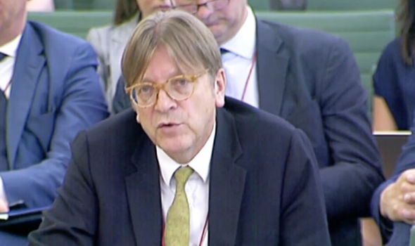 Guy Verhofstadt  Brexit LIVE: Parliament VOTES DOWN Dominic Grieve's amendment, Lords REJECTED   Politics   News Guy Verhofstadt 1388196