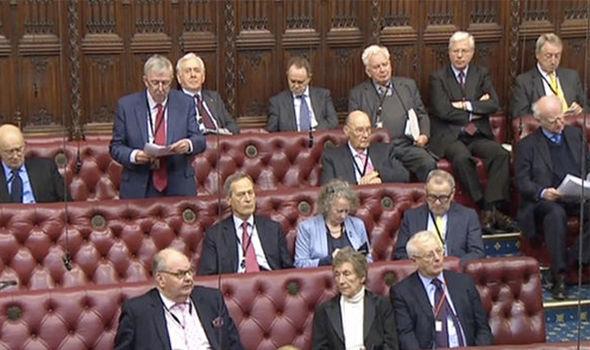 Lords debating bill