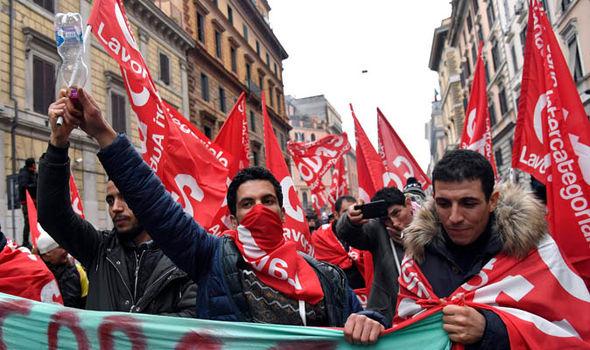Italian election 2018: Riots