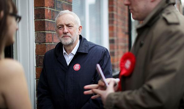 Jeremy Corbyn and Gareth Snell