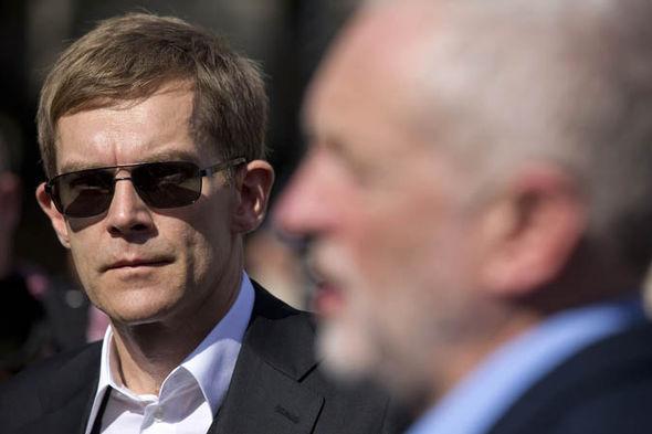 Jeremy Corbyn and Seumas Milne