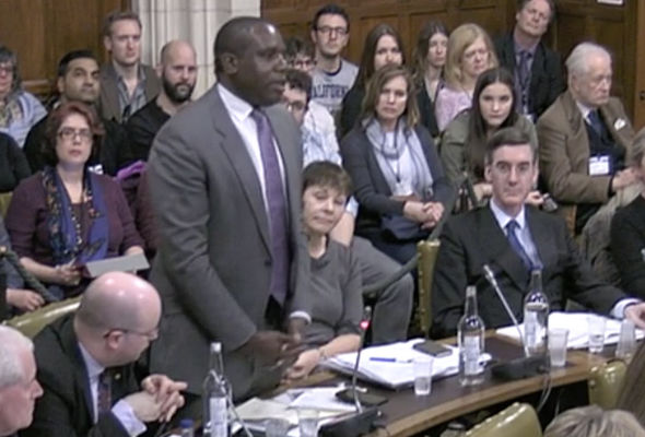 David Lammy says Mr Trump should only be given an official visit