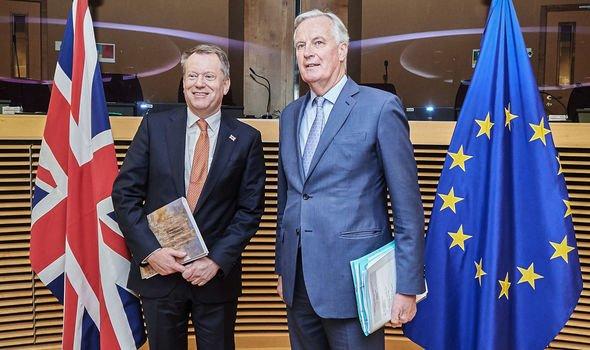 Lord David Frost Michel Barnier