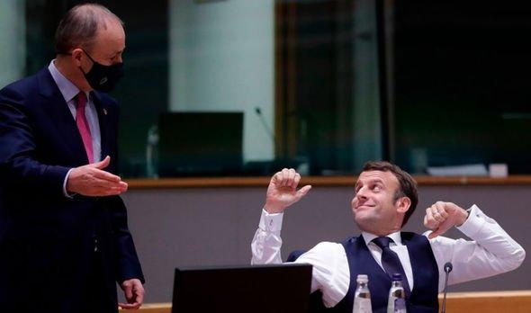 Micheal Martin Emmanuel Macron