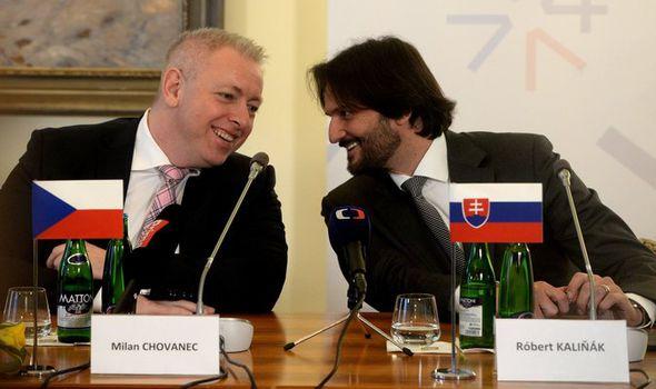 Czech Interior Minister Milan Chovanec