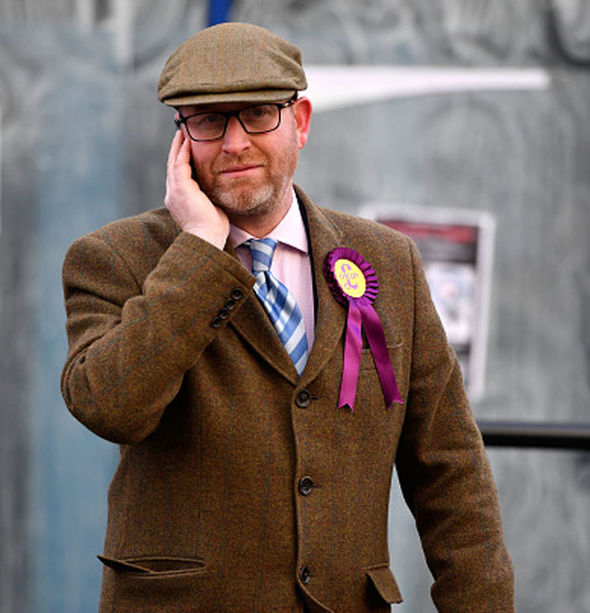 Mr Nuttall: Blocked bill could lead to crisis