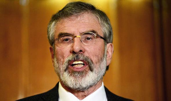 Sinn Fein has demanded an Irish border poll