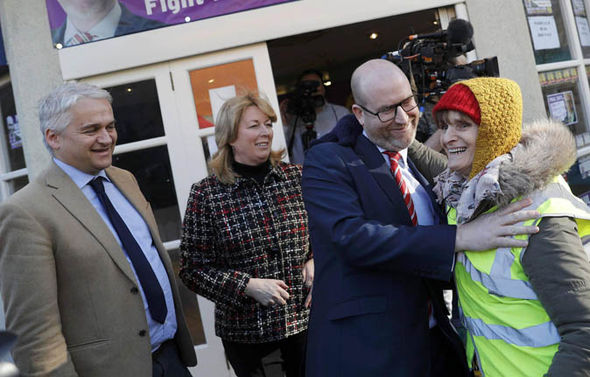 Paul Nuttall at Stoke elections