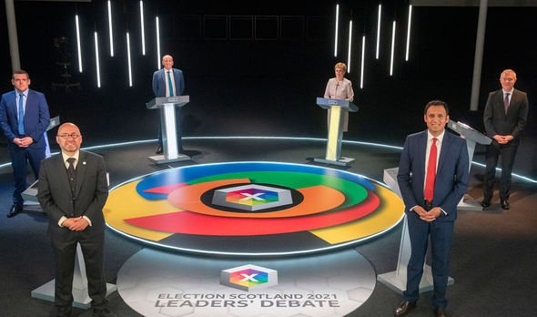 Scotland leaders debate