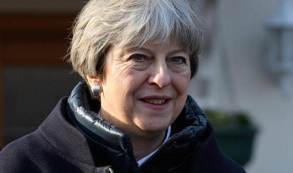 Theresa May  Brexit news: EU warned no deal will cost bloc £500 BILLION | Politics | News Theresa May 1193554
