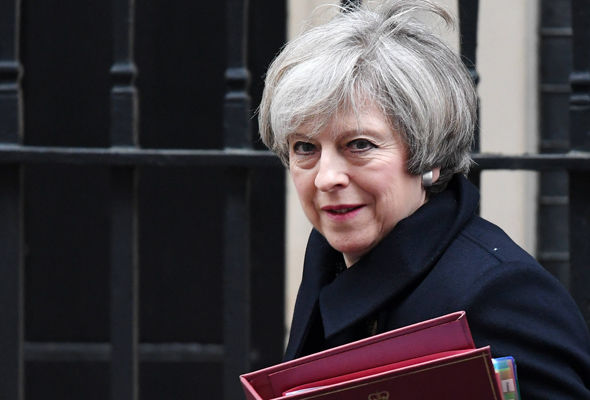 The Prime Minister leaves Number 10 for the last PMQs before the half-term recess