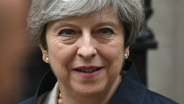 Theresa May, Prime Minister in London