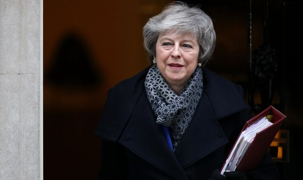 Theresa May, former Prime Minister