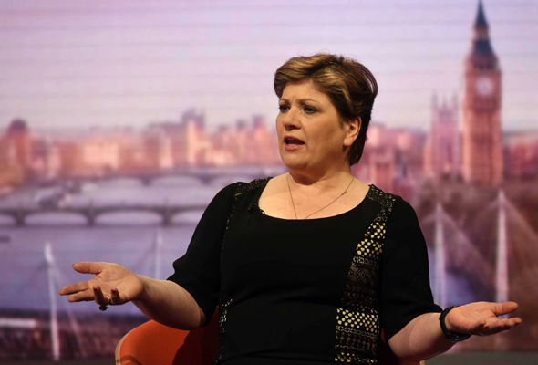 Emily Thornberry has signed the motion opposing Mr Trump making a speech
