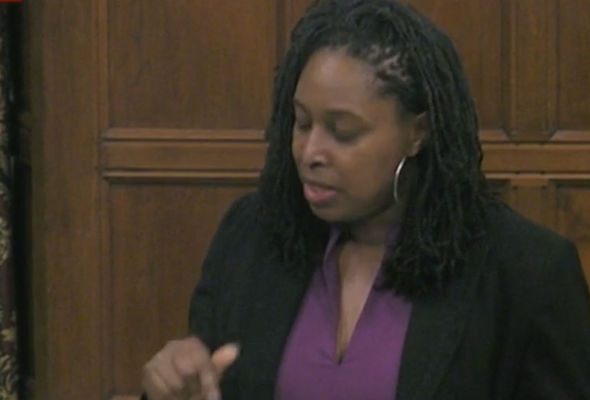"""Labour's Dawn Butler says the US """"has a virus"""""""