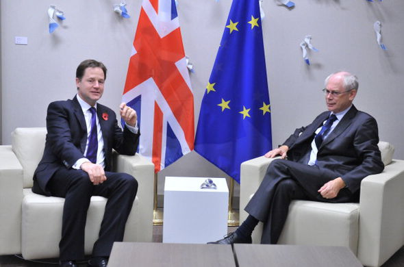 Mr Clegg is a great supporter of the unelected undemocratic European Commission