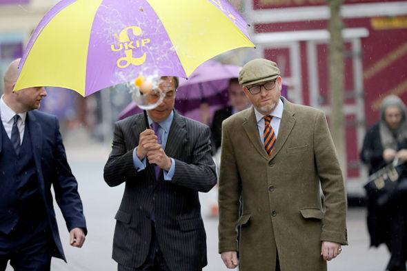 Nigel Farage and Paul Nuttall