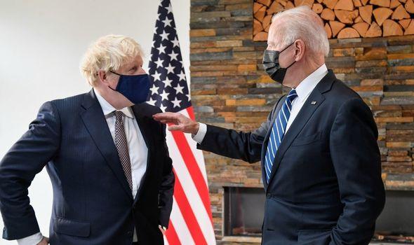 brexit boris biden northern ireland protocol