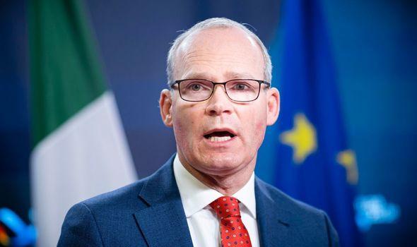 brexit ireland simon coveney