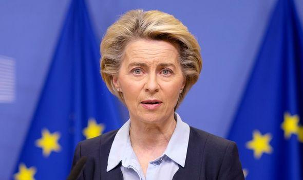 nouvelles du Brexit Ursula von der leyen